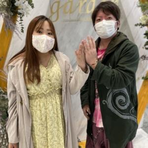 滋賀県・大津市 ディズニー美女と野獣の結婚指輪をご成約いただきました