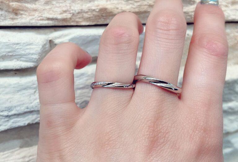 京都マリアージュエント指輪