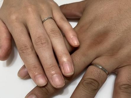 京都市右京区|インセンブレの結婚指輪をご成約いただきました。