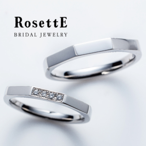 ロゼット結婚指輪タワー