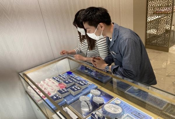 京都市伏見区|ノクルの結婚指輪をご成約いただきました