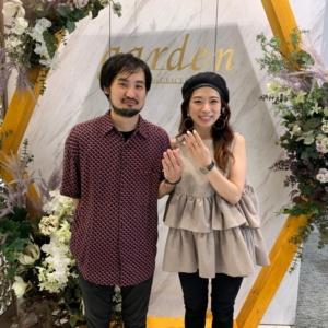 大阪茨木市|高品質で低価格帯のプルーヴとプリートの結婚指輪をご成約いただきました