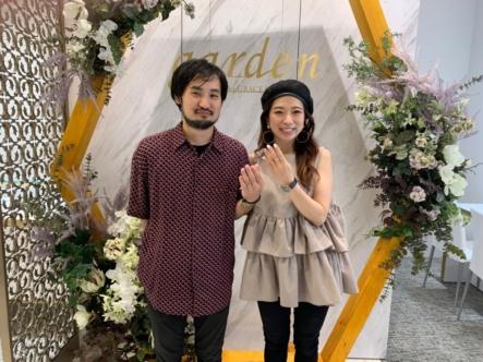 大阪茨木市 高品質で低価格帯のプルーヴとプリートの結婚指輪をご成約いただきました