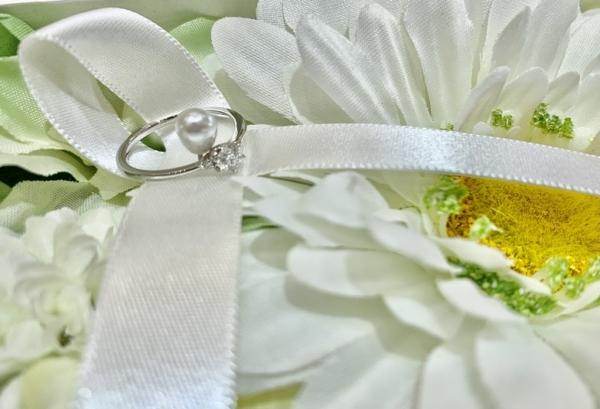 三重婚約指輪