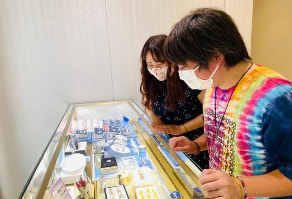 滋賀県大津市|ディズニープリンセスシリーズ美女と野獣の結婚指輪をご成約いただきました