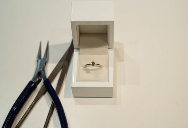 手作り婚約指輪プロポーズ京都