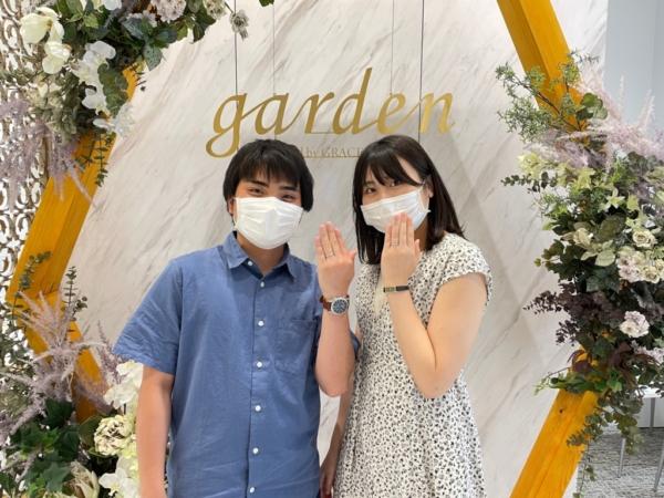 滋賀県草津市・東京都新宿区|鍛造製法・デザインにこだわったフィッシャーの結婚指輪をご成約いただきました