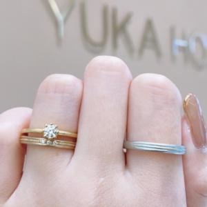 YUKA HOJO(ユカホウジョウ)カプリとカームの重ね付け