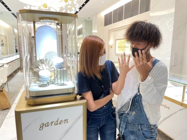 東大阪市 ラパージュ・インセンブレの結婚指輪をご成約いただきました