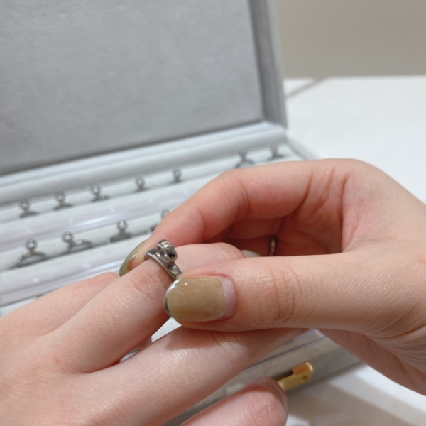 大阪梅田手作り指輪