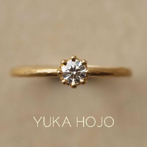 三重婚約指輪YUKAHOJO カプリ
