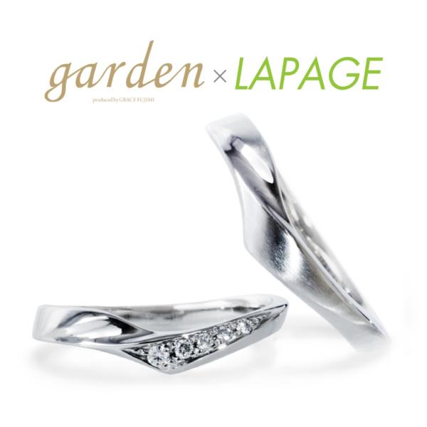 三重で人気のLAPAGEの結婚指輪 クレマチス