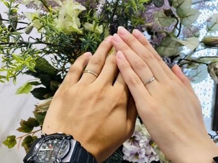 三重 結婚指輪