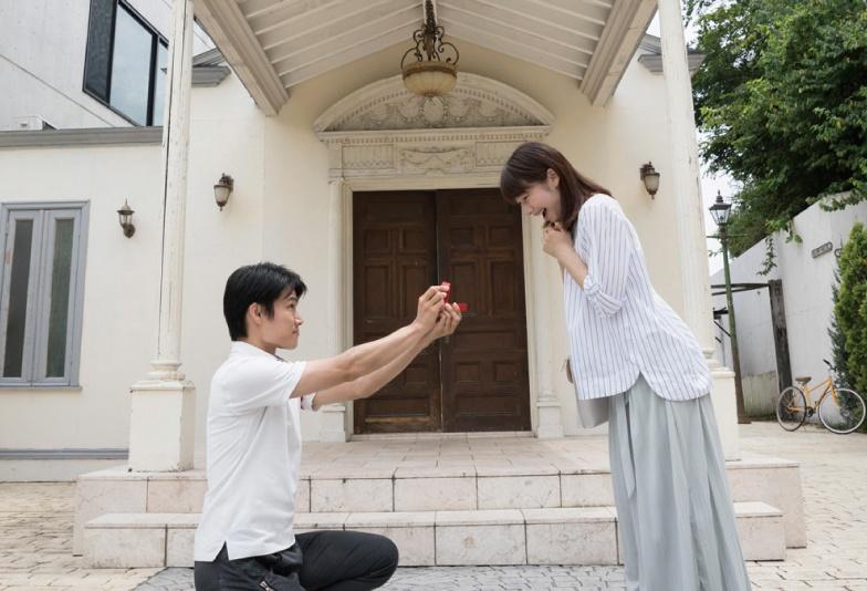 チャペル・お城でプロポーズ